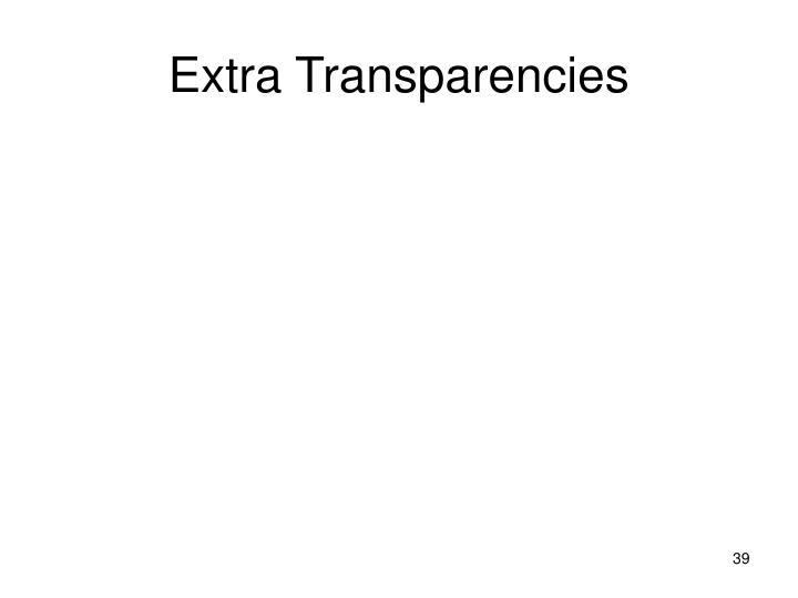 Extra Transparencies