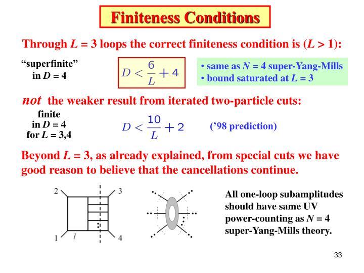 Finiteness Conditions