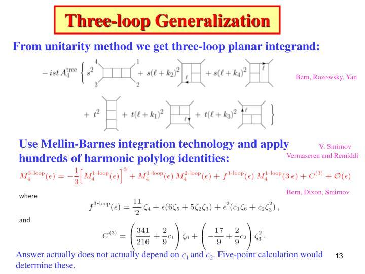 Three-loop