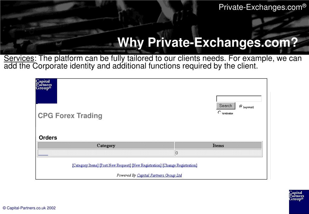 CPG Forex Trading