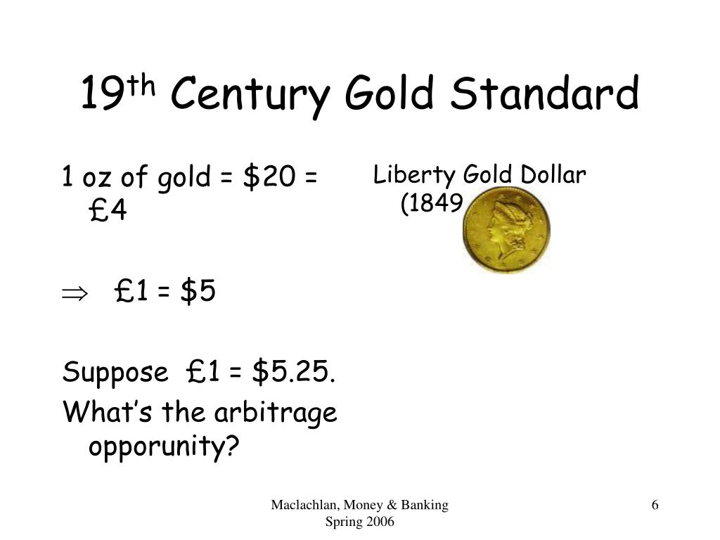 1 oz of gold = $20 =