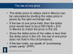 the law of one price7