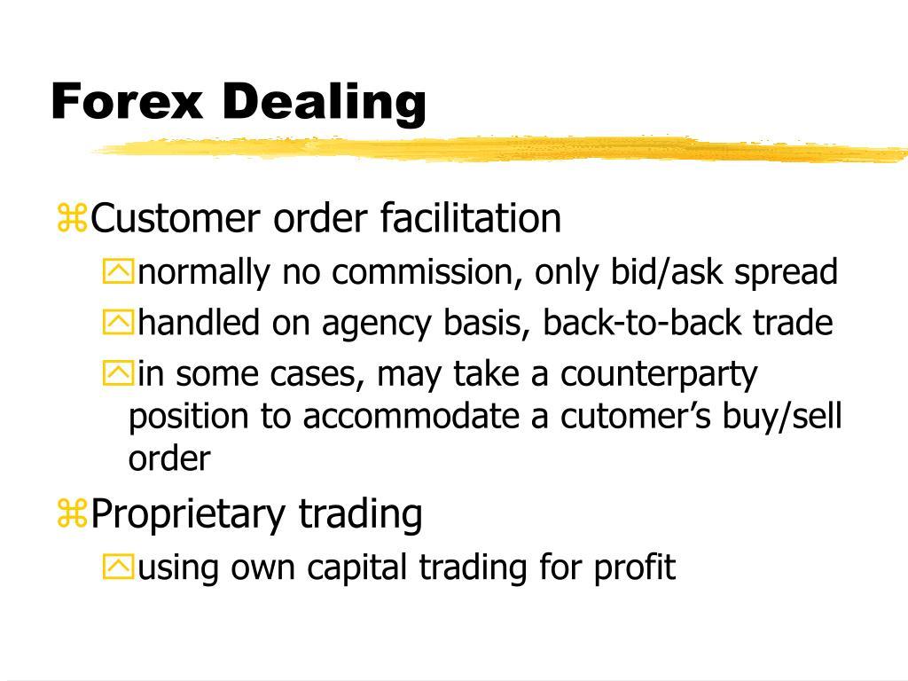 Forex Dealing