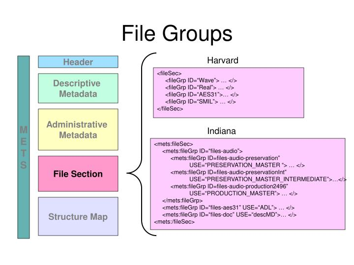 File Groups