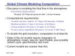 global climate modeling computation