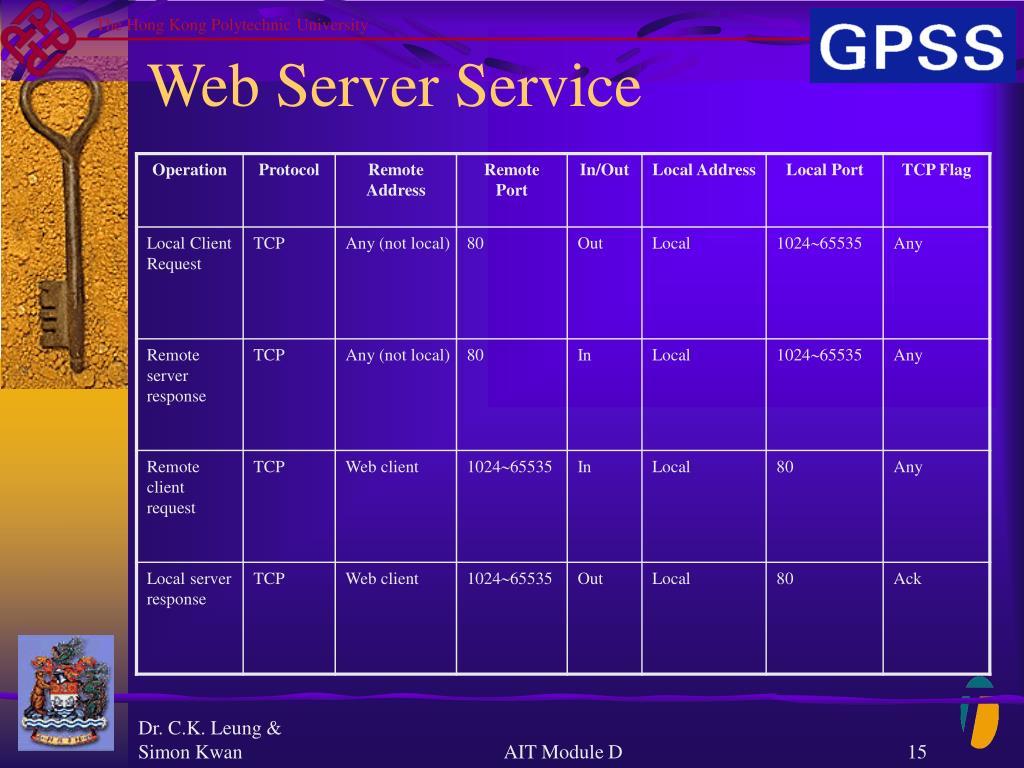Web Server Service