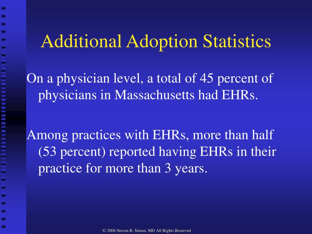 Additional Adoption Statistics