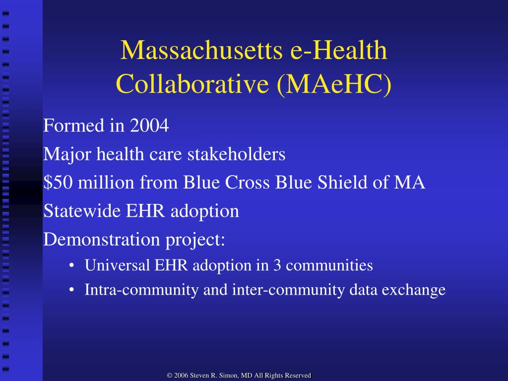 Massachusetts e-Health Collaborative (MAeHC)