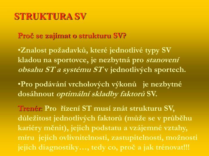 STRUKTURA SV