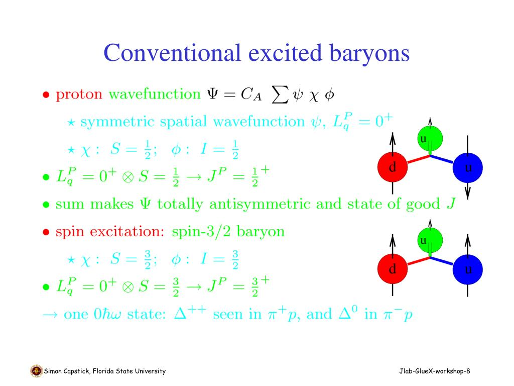 Conventional excited baryons