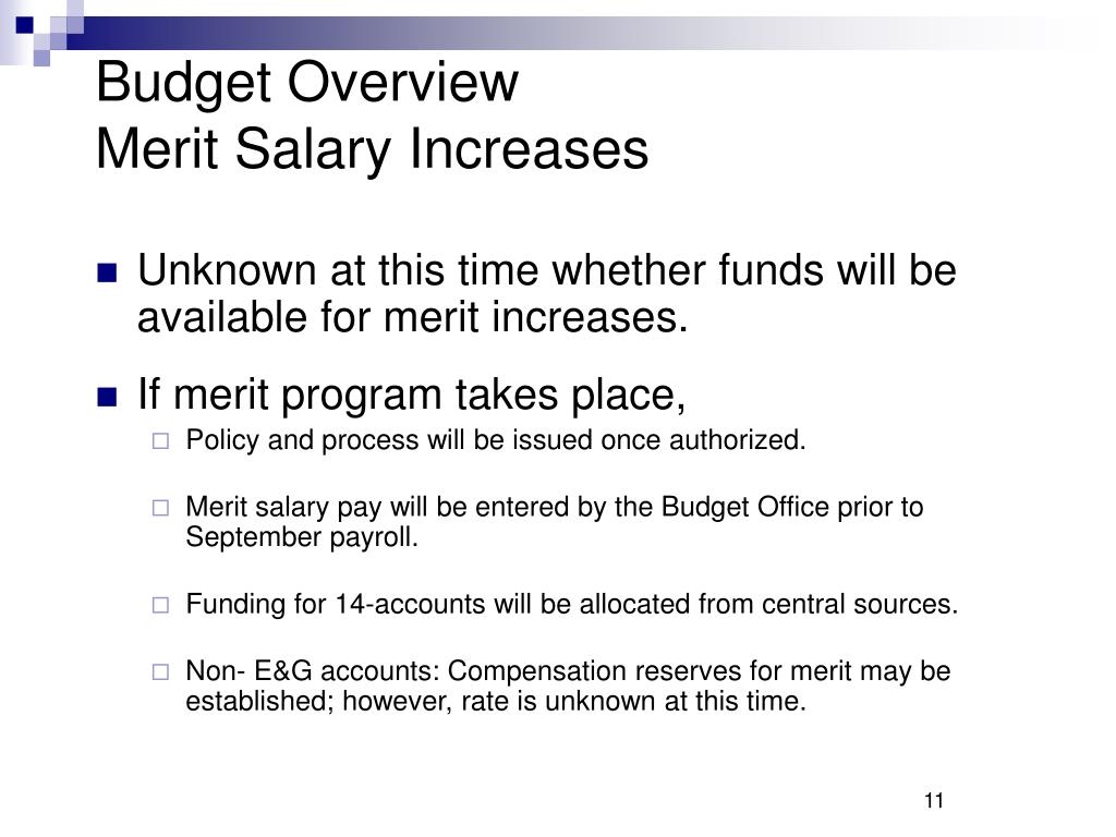 Budget Overview