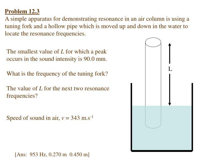 Problem 12.3