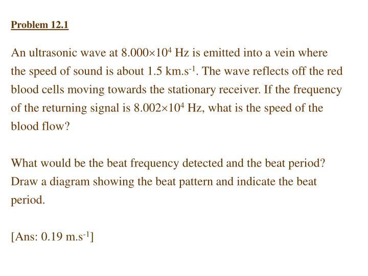 Problem 12.1