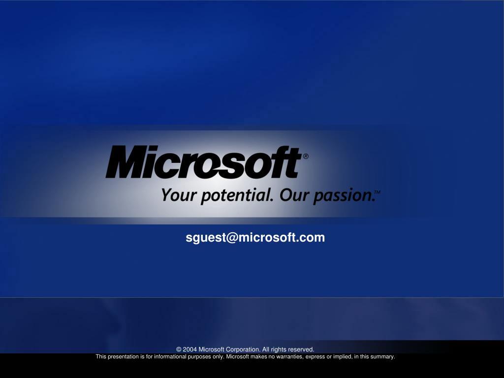 sguest@microsoft.com
