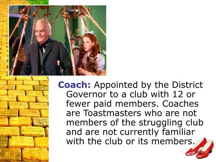 Coach: