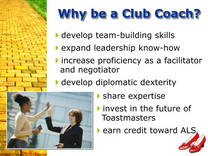 Why be a Club Coach?