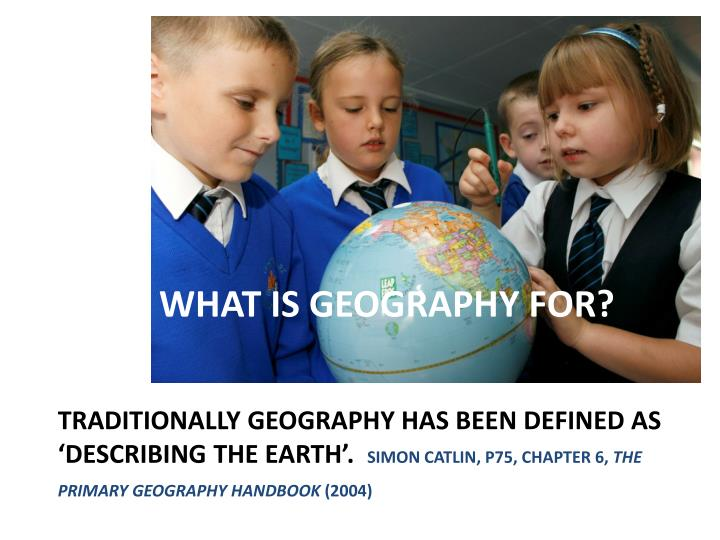 What is geography for