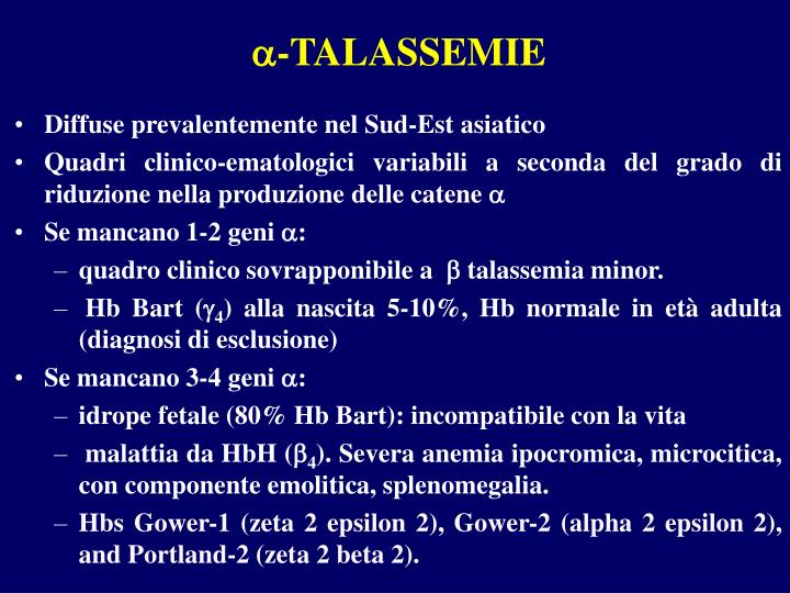 -TALASSEMIE