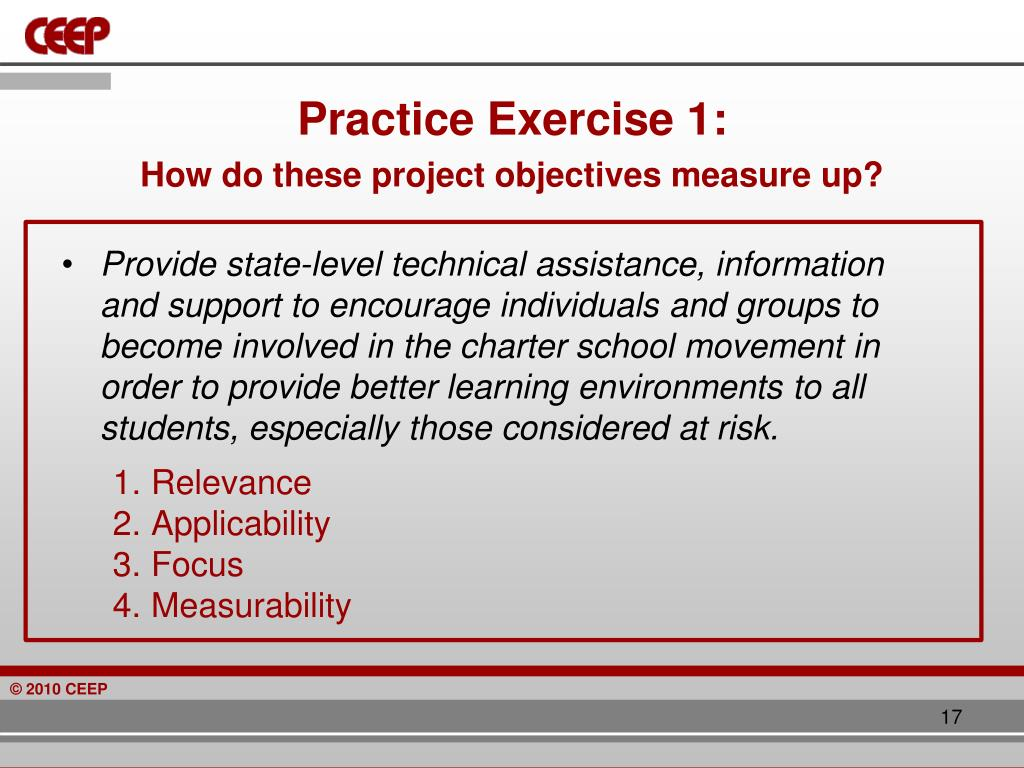 Practice Exercise 1: