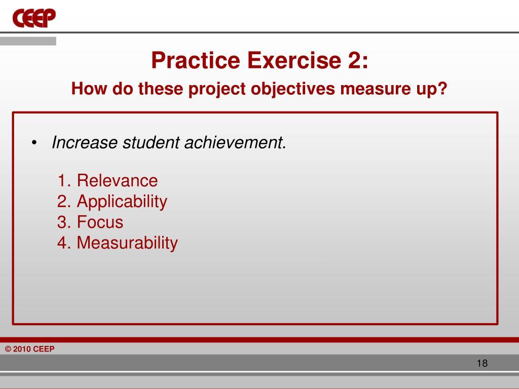 Practice Exercise 2: