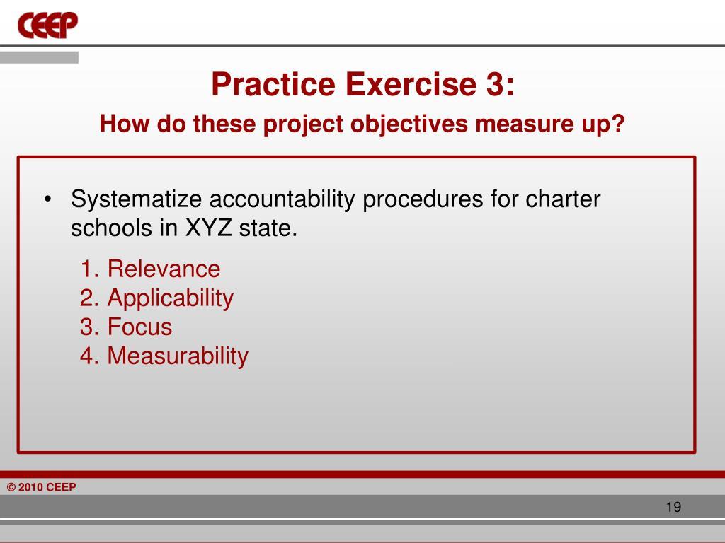Practice Exercise 3: