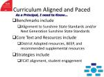 curriculum aligned and paced33