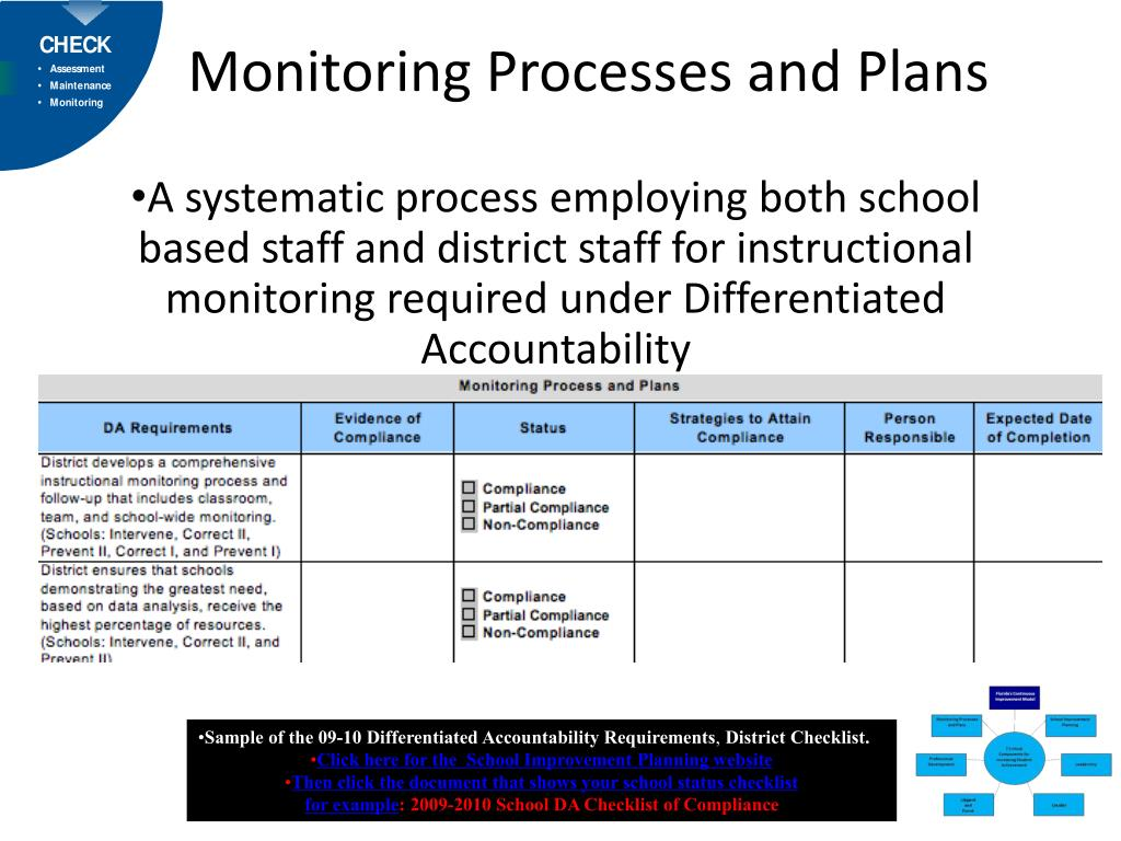 Monitoring Processes and Plans