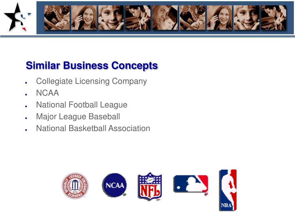 Similar Business Concepts