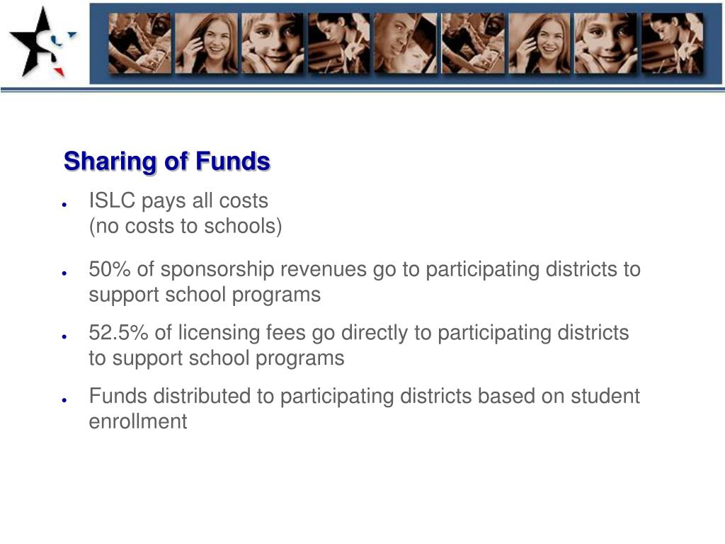 Sharing of Funds