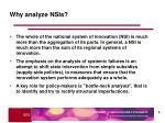 why analyze nsis