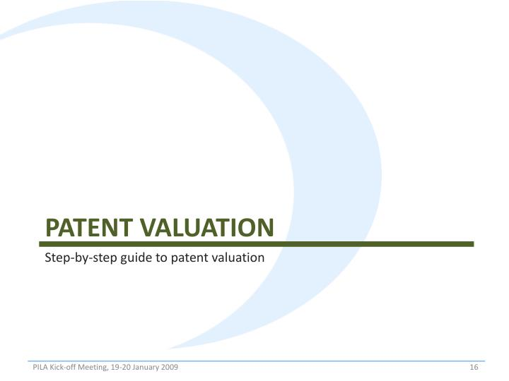 Patent Valuation
