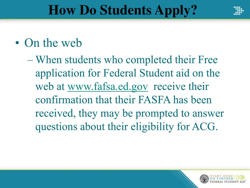 How Do Students Apply?