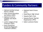 funders community partners