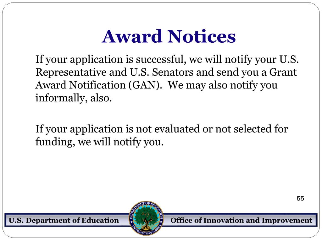 Award Notices