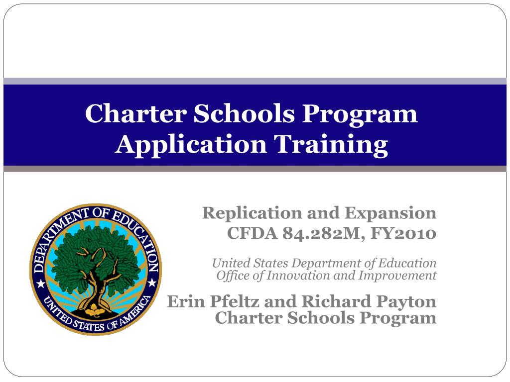 Charter Schools Program
