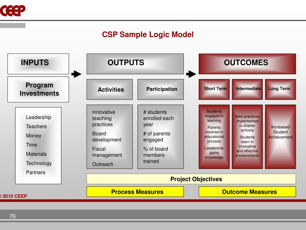 CSP Sample Logic Model