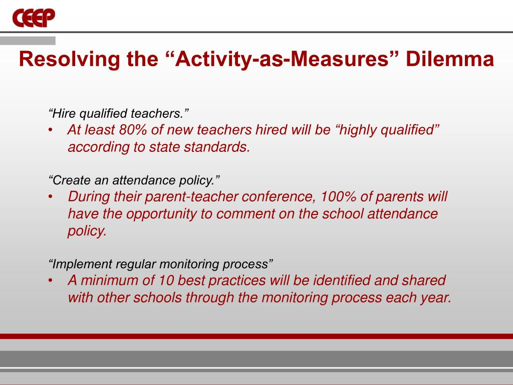 """Resolving the """"Activity-as-Measures"""" Dilemma"""