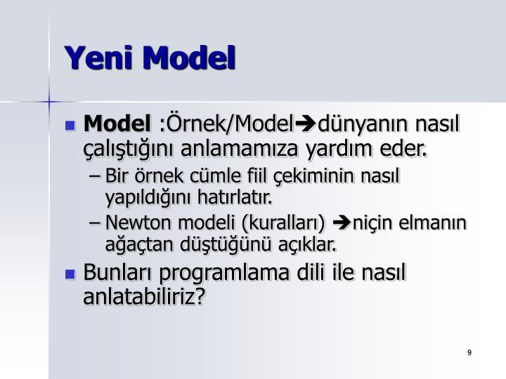 Yeni Model