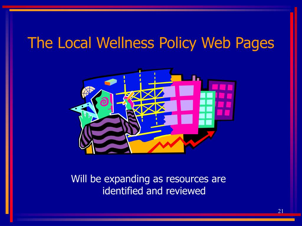 The Local Wellness Policy Web Pages