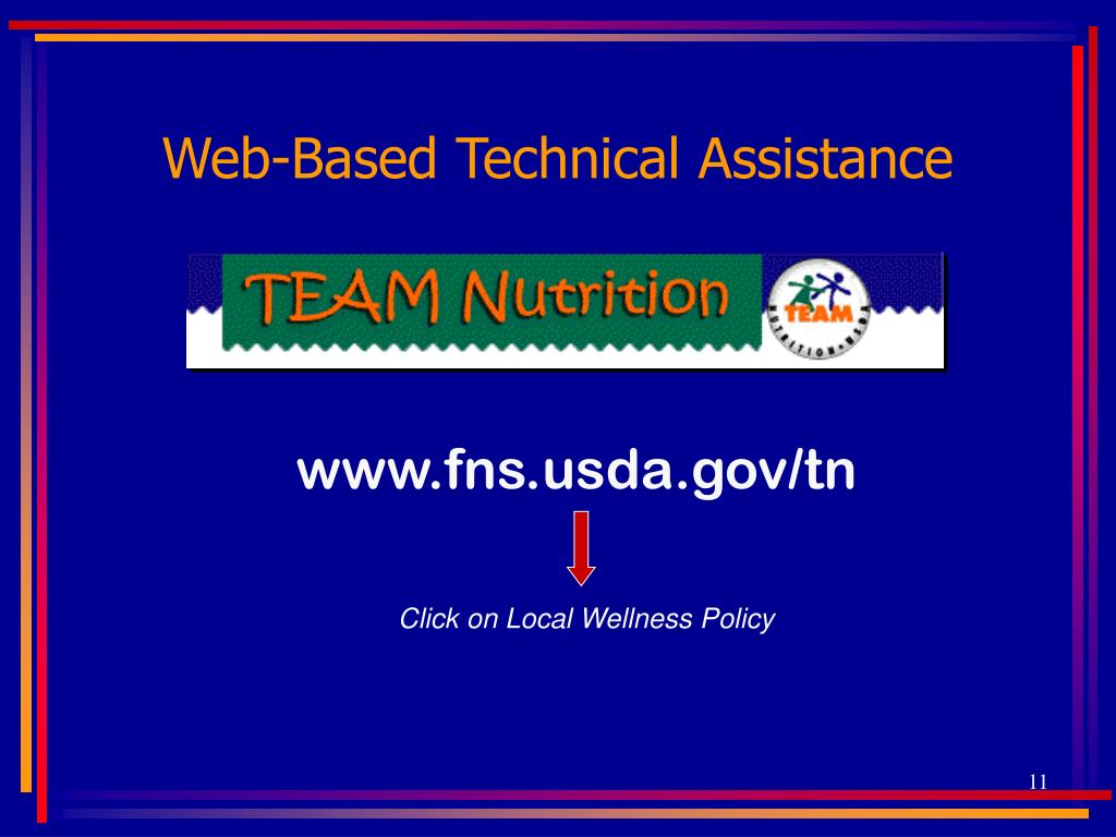 Web-Based Technical Assistance