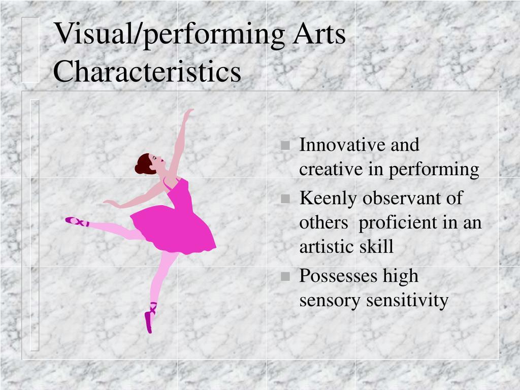Visual/performing Arts