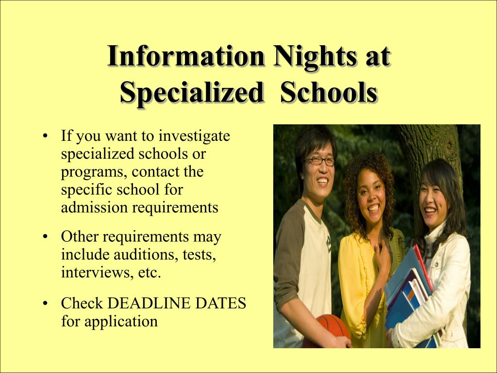 Information Nights at