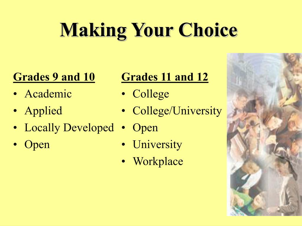 Grades 9 and 10