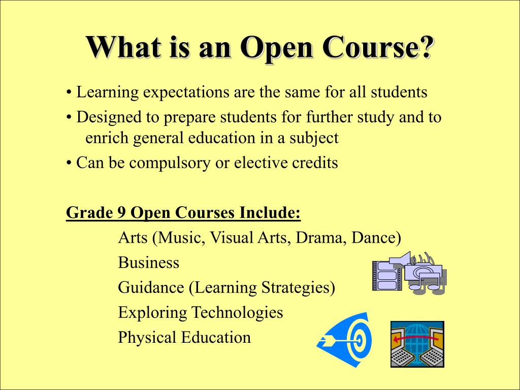 What is an Open Course?