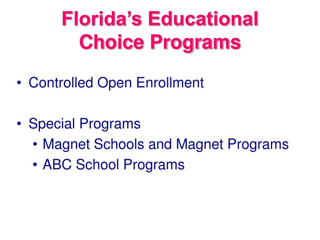 Florida's Educational