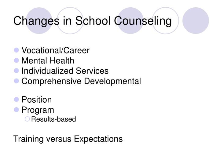Changes in school counseling l.jpg