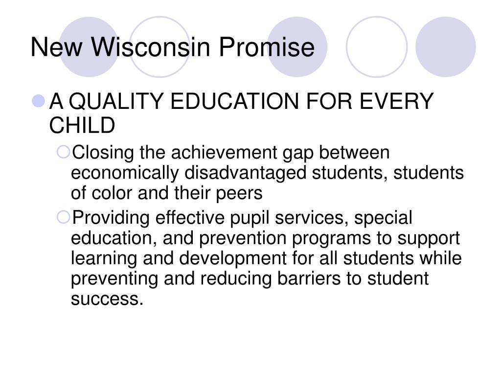 New Wisconsin Promise