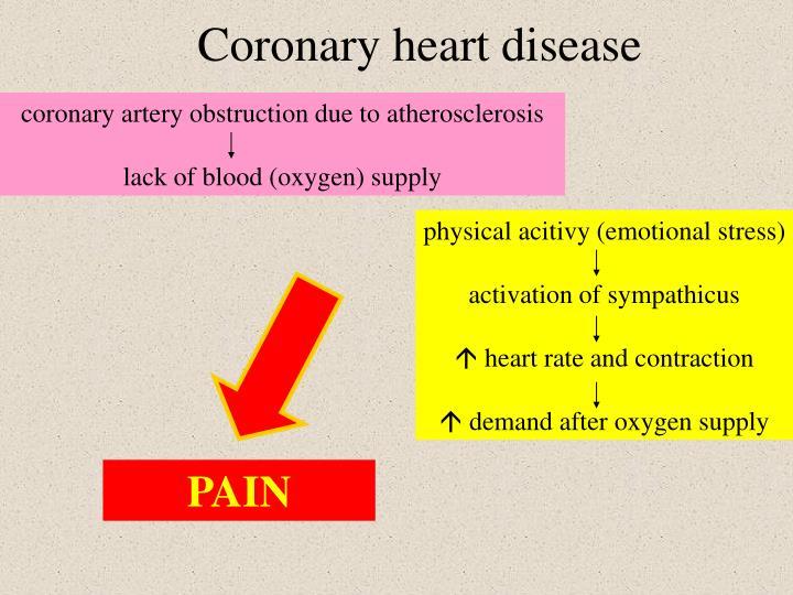physical acitivy (emotional stress)