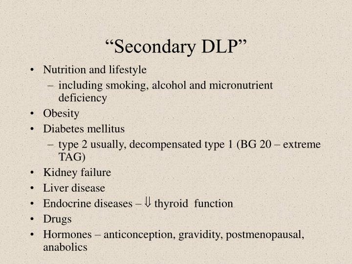 """Secondary DLP"""