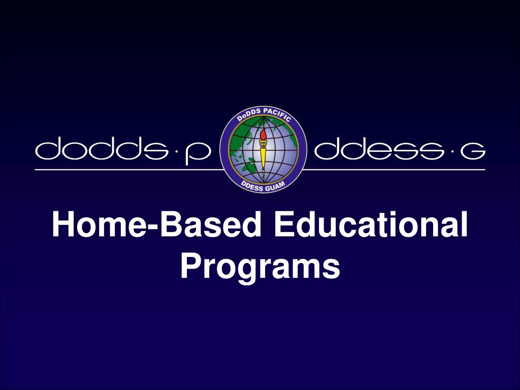 home based educational programs